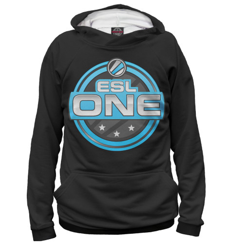 Худи Print Bar ESL One Logo Black