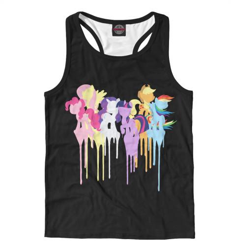 Майка борцовка Print Bar My Little Pony майка классическая printio my little pony rainbow dash