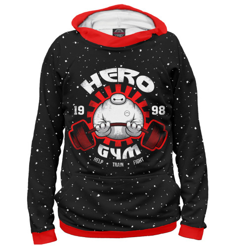 Худи Print Bar Hero Gym gopro hero prosto hero
