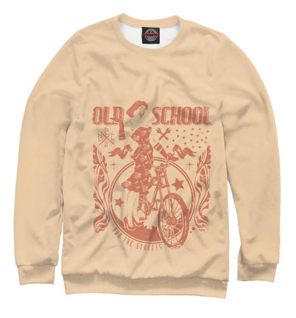 Купить Свитшот для девочек Old School Lady HIP-552018-swi-1