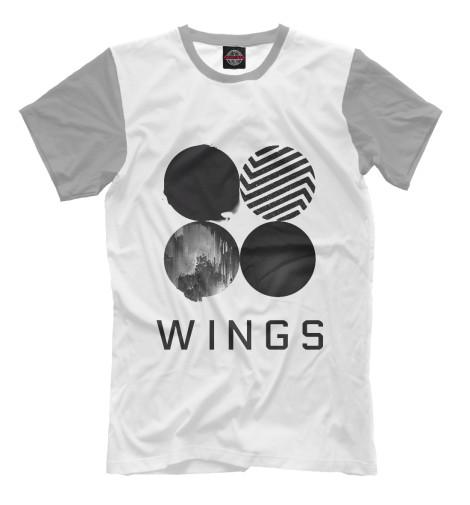 Мужская футболка Wings BTS KPP-850717-fut-2  - купить со скидкой