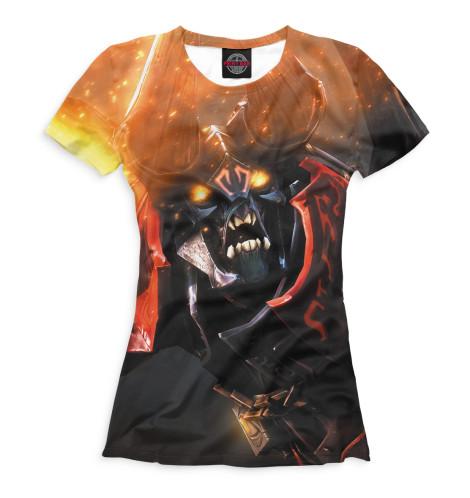 Женская футболка Doom