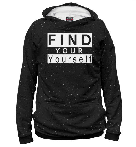 Худи Print Bar Find your yourself find your why