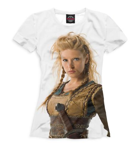 Женская футболка Лагерта