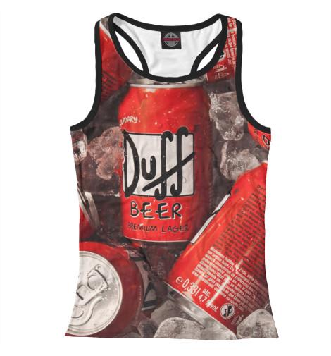 Майка борцовка Print Bar Duff Beer майка борцовка print bar nuka duff