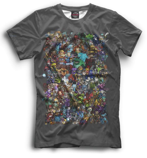 Мужская футболка Dota 2 DO2-745429-fut-2  - купить со скидкой