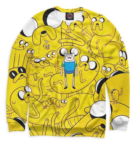 Мужской свитшот Adventure Time