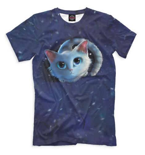 Купить Мужская футболка Коты CAT-560832-fut-2