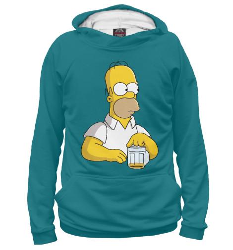 Худи Print Bar Homer Beer худи print bar homer logan