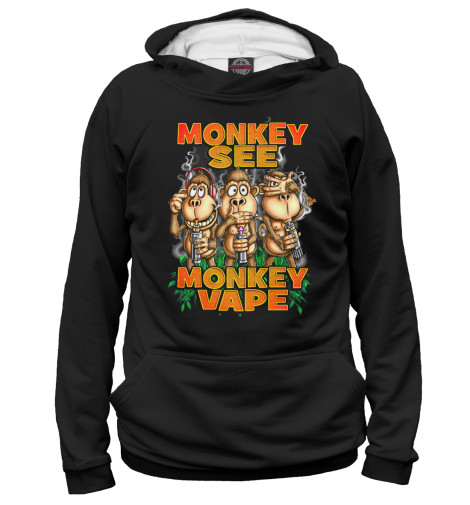 Худи Print Bar monkey vape худи print bar vape life