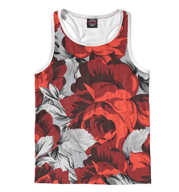 Купить Мужская майка-борцовка Розы CVE-779740-mayb-2