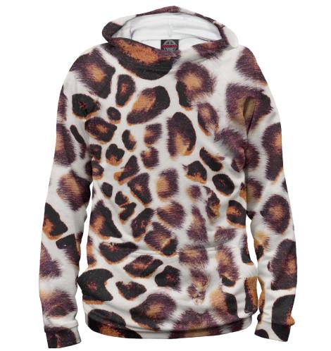 Мужское худи Дымчатый леопард