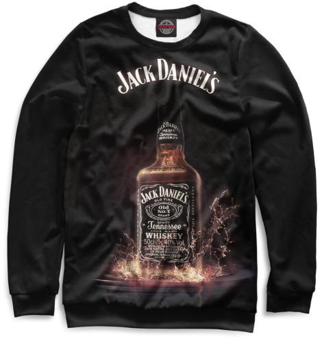 Свитшот Print Bar Jack Daniels свитшоты jack