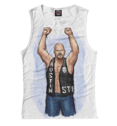 Майка Print Bar WWE: Стив Остин майка борцовка print bar wwe эдж