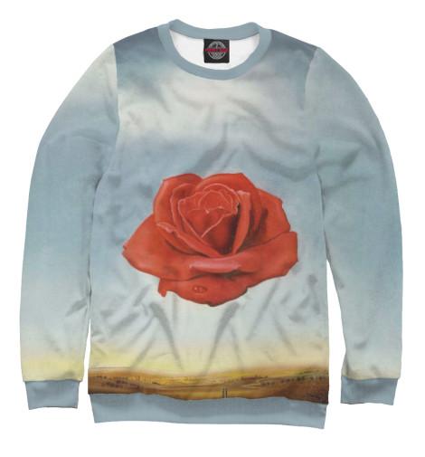 Свитшот Print Bar Медитативная роза пламенная роза тюдоров