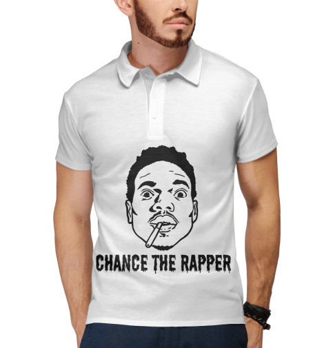 Поло Print Bar Chance The Rapper high chance 18