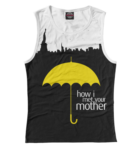 Майка Print Bar How I Met your Mother майка борцовка print bar diane how s annie