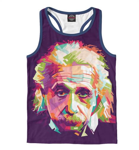Майка борцовка Print Bar Альберт Энштейн альберт кузнецов элементарная электротехника