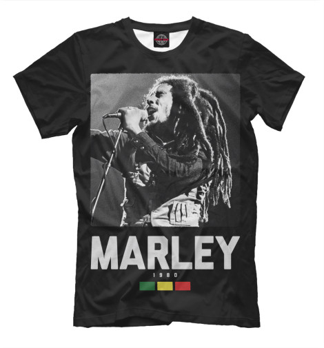 Футболка Print Bar Bob Marley футболка print bar bob marley