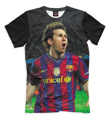 Мужская футболка Месси
