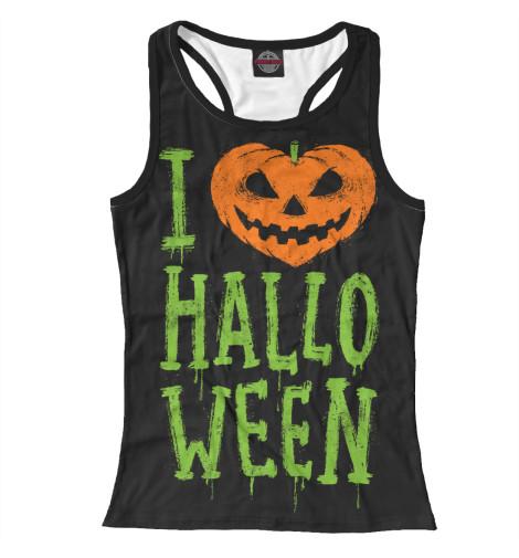 Майка борцовка Print Bar I Love Halloween худи print bar i love halloween