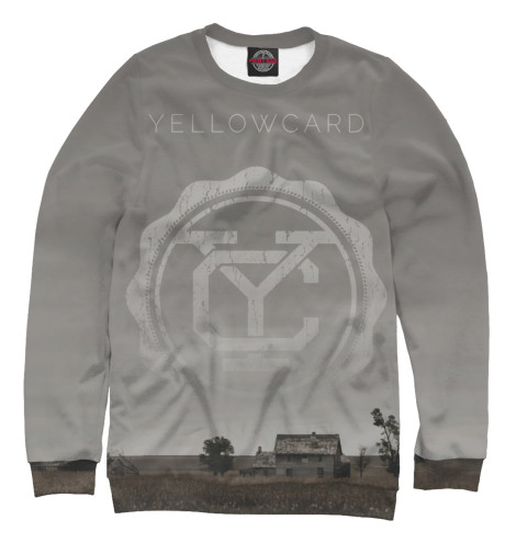 Свитшот Print Bar Yellowcard свитшот print bar bradwarden centaur warrunner