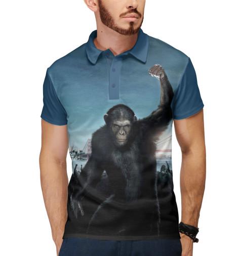 Поло Print Bar Восстание планеты обезьян поло print bar война планеты обезьян