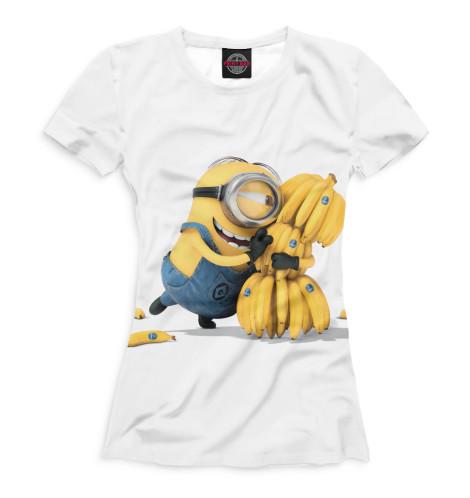 Женская футболка Миньон