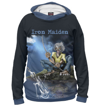 Мужское худи iron maiden bands groups