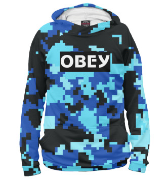 Женское Худи OBEY MILITARY FASHION