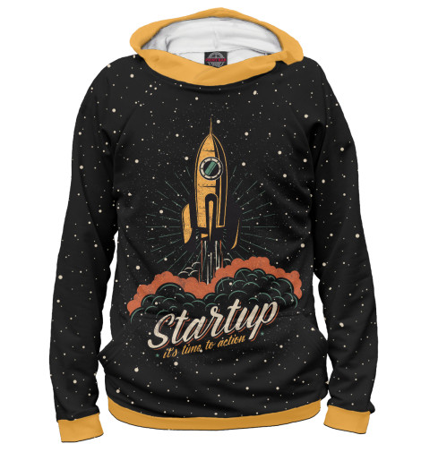 Худи Print Bar Startup Space the $100 startup