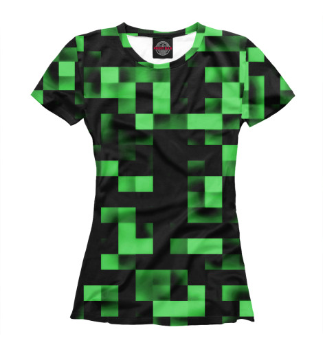 Футболка Print Bar Зеленые кубики футболка print bar кубики