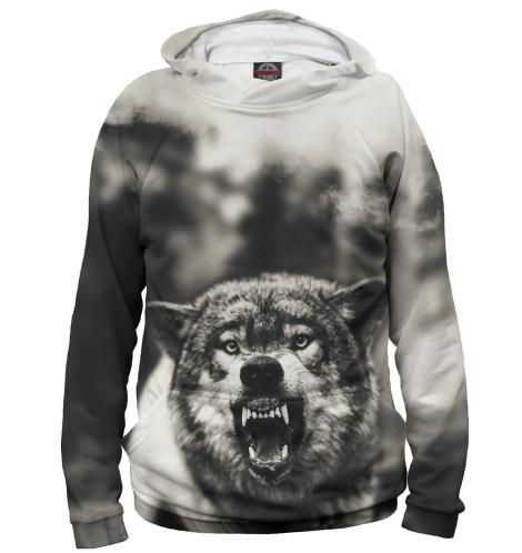 Купить Женское худи Волк VLF-110622-hud-1