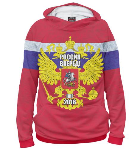 Мужское худи Россия вперед! Print Bar HOK-471232-hud