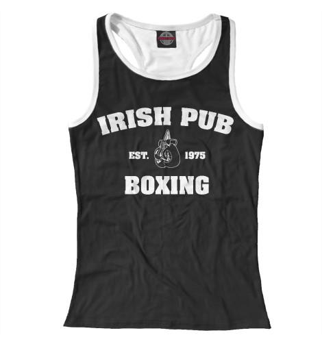 где купить Майка борцовка Print Bar Irish Pub Boxing дешево