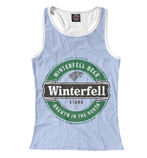 Майка борцовка Print Bar Winterfell Beer майка борцовка print bar our last night