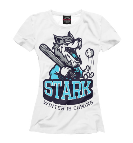 Купить Женская футболка Дом Старков IGR-764243-fut-1