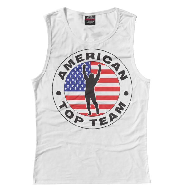 Купить Майка для девочки American Top Team MNU-730226-may-1
