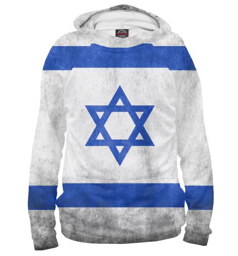 Худи Print Bar Флаг Израиля флаг пограничных войск россии великий новгород