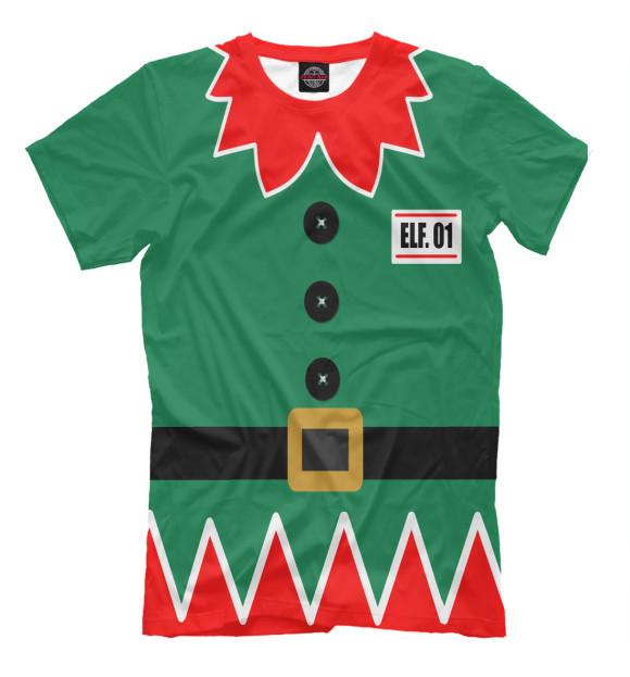Купить Мужская футболка Костюм эльфа NOV-575939-fut-2