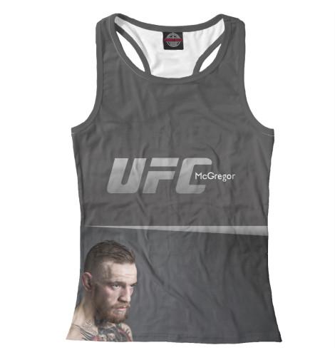Майка борцовка Print Bar UFC McGregor майка борцовка print bar ufc logo