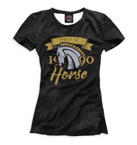 Футболка Print Bar Год лошади — 1990 футболка print bar лошади