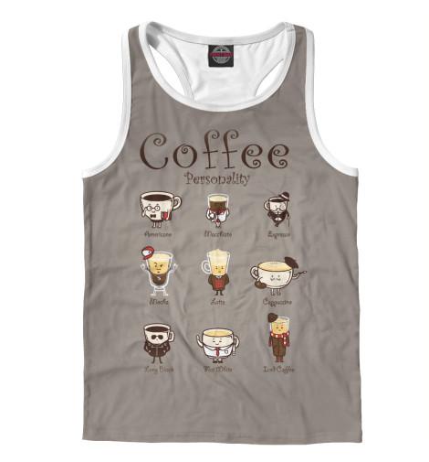 Майка борцовка Print Bar Coffee Personality