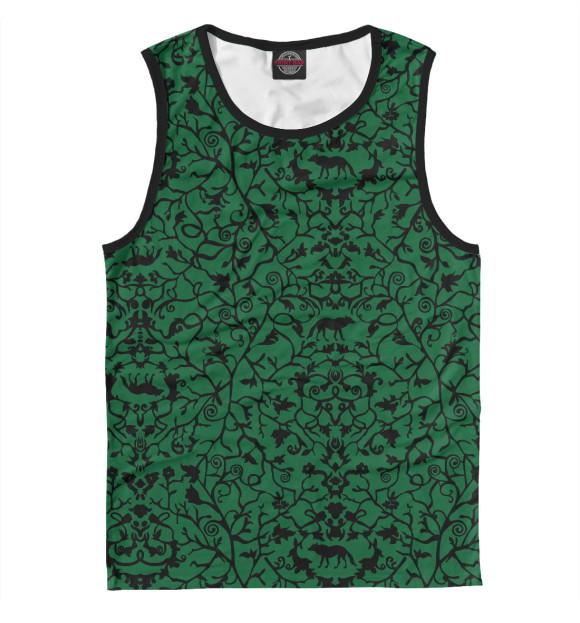 Купить Майка для мальчика Abstract Wolf Green ABS-712445-may-2
