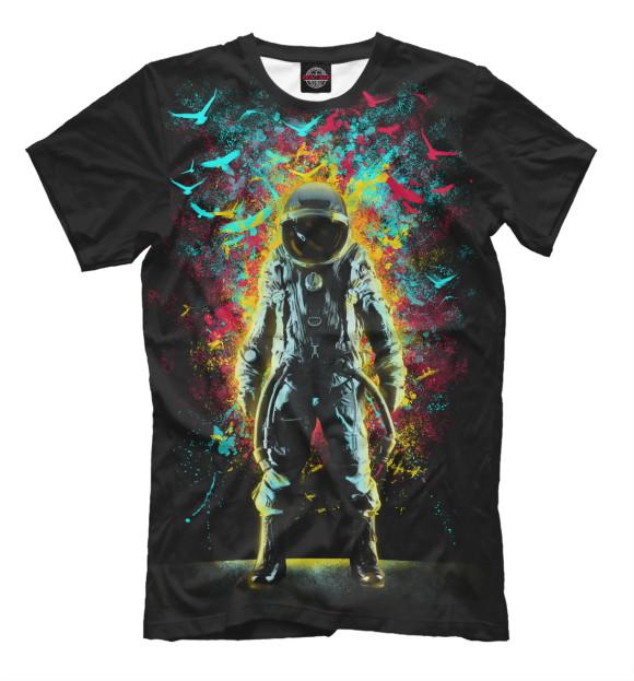 Купить Мужская футболка Космонавт HIP-330514-fut-2