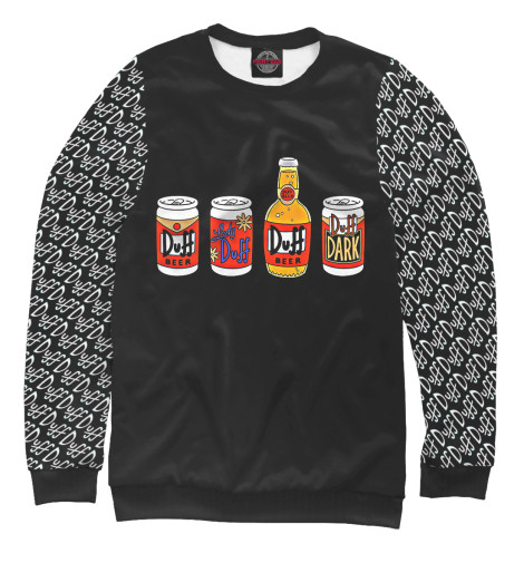 Свитшот Print Bar Duff Beer худи print bar duff beer