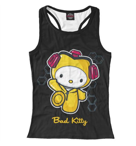 Майка борцовка Print Bar Bad Kitty свитшот print bar bad kitty