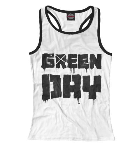 Майка борцовка Print Bar Green Day майка print bar муха обиженная