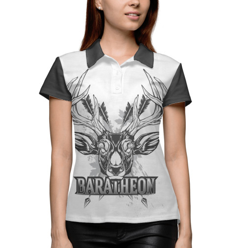 Поло Print Bar Game of Thrones baratheon майка борцовка print bar game of thrones baratheon
