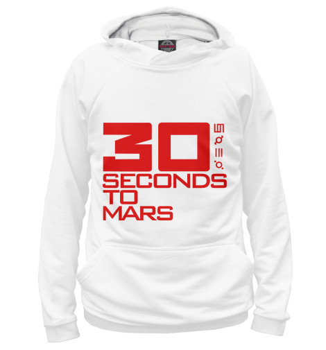 Худи Print Bar 30 Seconds to mars майка борцовка print bar 30 seconds to mars